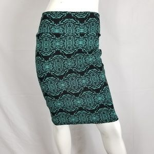 Lularoe Cassie Pencil Skirt Stretch Size Small